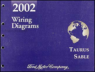 2002 Ford Taurus & Mercury Sable Wiring Diagram Manual Original: Ford:  Amazon.com: BooksAmazon.com