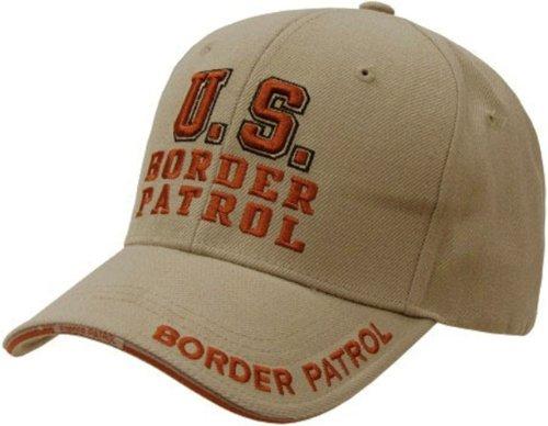 Patrol Cap Khaki (US Border Patrol Law & Order Baseball Cap by Rapid Dominance (Khaki))