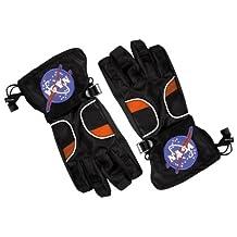 Aeromax ASGB-MED Astronaut Gloves, Black, Medium