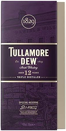 Tullamore Dew Whisky 12años, 700 ml