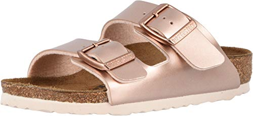 Birkenstock New Kids Arizona Sandal Electric Metallic Copper BF 33 N