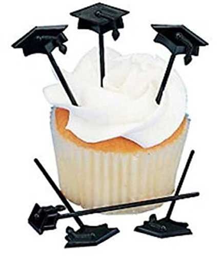 Fun Express 72 pc Graduation Cupcake or Appetizer Picks ()