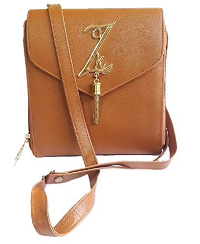 df5ae845e8d KPR Women s PU Synthetic Leather Sling Bag (Golden)  Amazon.in  Shoes    Handbags