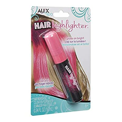 ALEX Spa Hair Highlighter Pink: Toys & Games