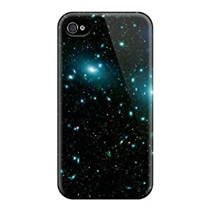 Hot Covers Cases For Iphone/ 4/4s Cases Covers Skin - Blue Stars In Space
