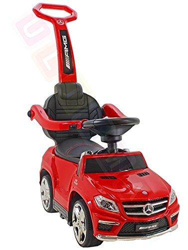 pousseur pour enfant Porteur 4/en 1 voiture Mercedes-Benz GL63 AMG