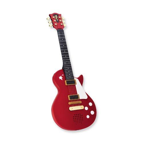 Unbekannt My Music World Rockgitarre Rot Siehe Beschreibung