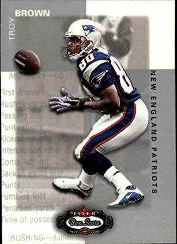 2002 Fleer Box Score #31 Troy Brown NM-MT Patriots