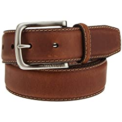 Tommy Hilfiger Men's Casual Contrast-Stitch Belt