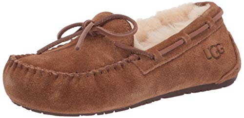 (UGG Australia Dakota Girls Slippers,Chestnut,6)
