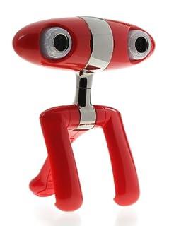 Minoru 3D Webcam (Red/Chrome) (B001NXDGFY)   Amazon price tracker / tracking, Amazon price history charts, Amazon price watches, Amazon price drop alerts