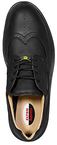 Calzado Hombre Negro Elten Para De Protección 7fdqS