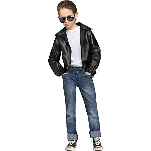 T Bird Gang Jacket Kids Costume