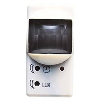 Gewiss GW20821 Sensor de infrarrojos Alámbrico Pared Blanco detector de movimiento - Sensor de movimiento (