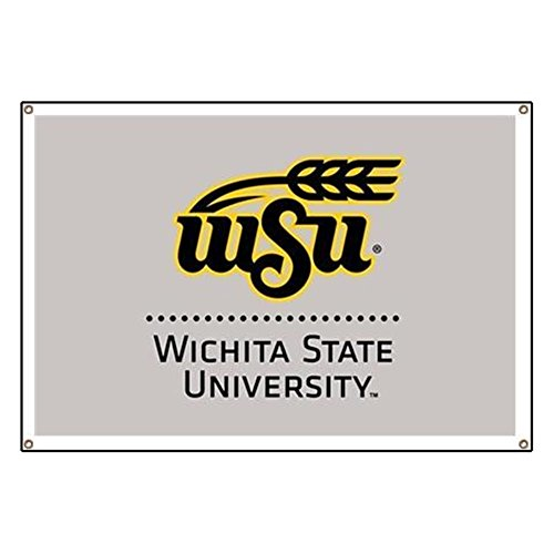 CafePress WSU Wichita State University Vinyl Banner, 44