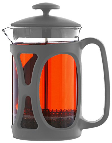 GROSCHE Basel French Press Coffee and Tea Maker (Large - 800 ml, Grey)