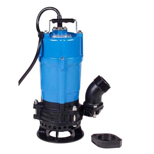 Tsurumi HSD2.55; Heavy Duty, Sand handling Agitator Pump, 3/4hp, 115V, 2