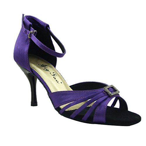 Jig für 7 offene Salsa Dance 6 Latin Ballroom Tango Frauen Schuhe Sandalen nbsp;cm mit Ferse Foo AgwpqrA