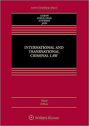 Amazon com: International and Transnational Criminal Law