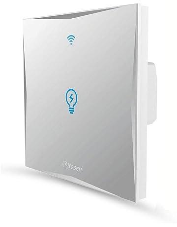 Inteligencia Wifi Interruptor FEYG Interruptor Inteligente Control de voz Amazon Alexa And Google Home,Pantalla