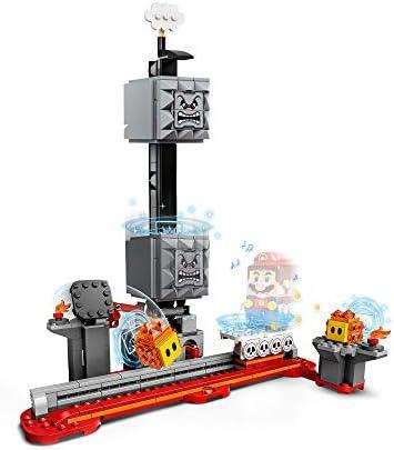 LEGO Fallender Steinblock – Erweiterungsset - Anspruchsvolles Super Mario™ Erweiterungsset mit Steinblock