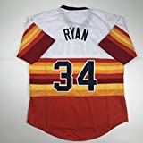 Unsigned Nolan Ryan Houston Striped Custom Stitched Baseball Jersey Size Men's XL New No Brands/Logos