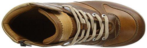 Pikolinos Vrouwen Lisboa W67_i17 Hoge Sneaker Bruin (brandewijn)