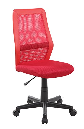 United Seating High-back Adjustable Ergonomic Mesh Swivel Computer Office Desk Task Chair, Crimson Red by United Seating