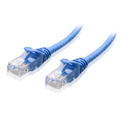 Cable Matters Snagless Cat6 Ethernet Cable (Cat6 Cable, Cat 6 Cable) in Blue 75 Feet