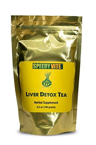 Cheap Liver Detox Tea Organic 5.5oz SpeedyVite® Cleanses, Supports Liver, Gallbladder Health* with Dandelion Root, Dandelion Leaf, Fennel, PAU d' Arco bark, Sassafras, Ginger