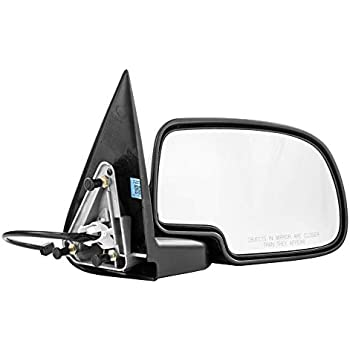 KOOL-VUE Mirror Left Side Chevy Silverado 1500 2500 3500 HD 03-07 Single Plug