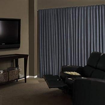 Amazon Com Absolute Zero Velvet Blackout Home Theater