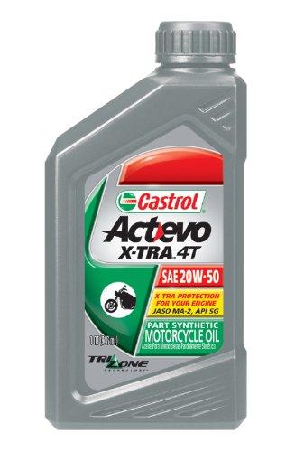 UPC 079191063965, Castrol 06396 Actevo Xtra 20W-50 4-Stroke Motorcycle Oil - 1 Quart Bottle, (Pack of 6)