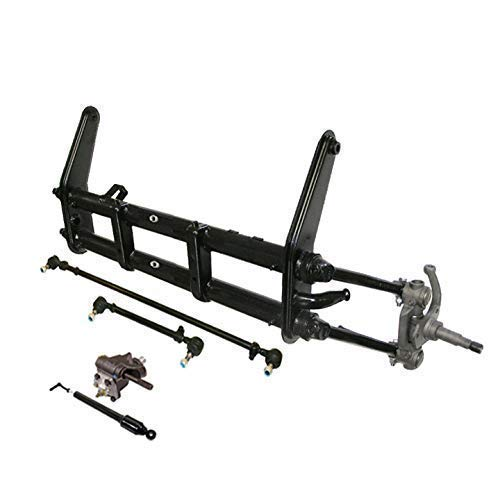 Rebuilt Stock King and Link pin front ends beams with new tie rods, new steering damper and new trw steering box for VW Volkswagen Bug Beetle Karmann Ghia 1950-1965