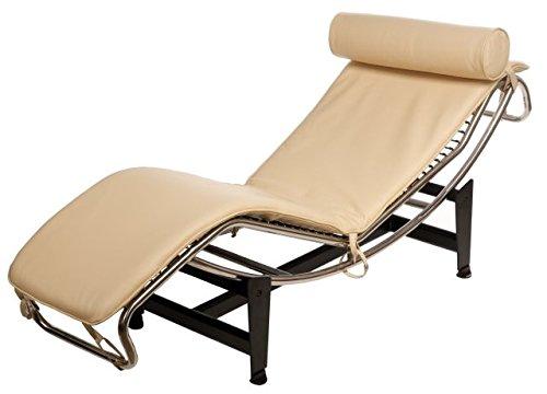 Le Corbusier LC 4 Replik Liege Leder Chaiselounge Sessel Echtleder Beige  Bestellen