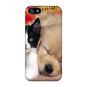 USMONON Phone cases Premium Case With Scratch-resistant/ Pets Case Cover For Iphone Iphone 5 5s