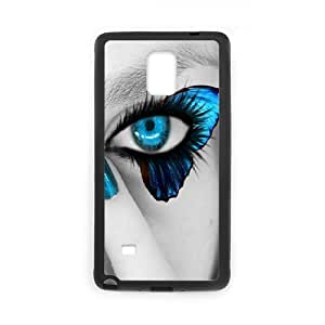 Naza Eye Samsung Galaxy Note 4 Cases Cheap Cute Beautiful Eyes, Eye Protective Case for Samsung Galaxy Note4 [Black]