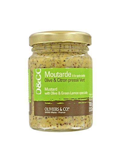 Mustard with Olive & Green Lemon (Lemon Mustard)