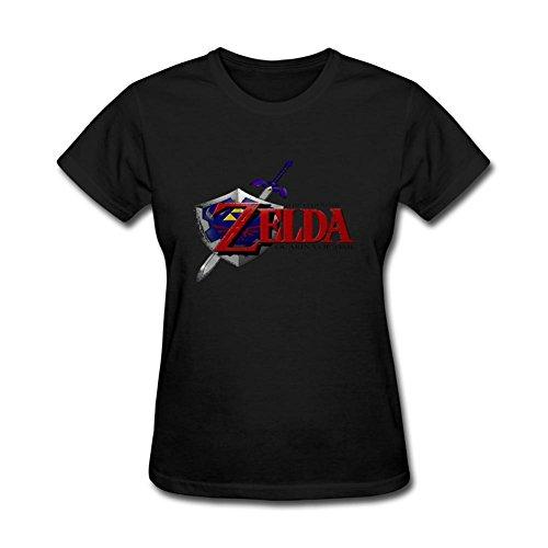 Price comparison product image Women's Men's Legend Of Zelda Ocarina Of Time Symbols Short Sleeve T-Shirt