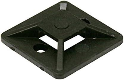 Soporte adhesivo para bridas de 4 mm de color negro Electro Dh 31.666//N 8430552140947