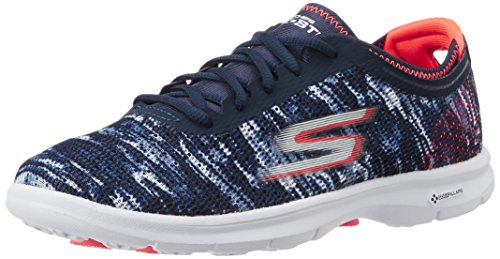 Blue Step Nvcl Top Go Women's Low Skechers Sneakers 0qwYAEqB