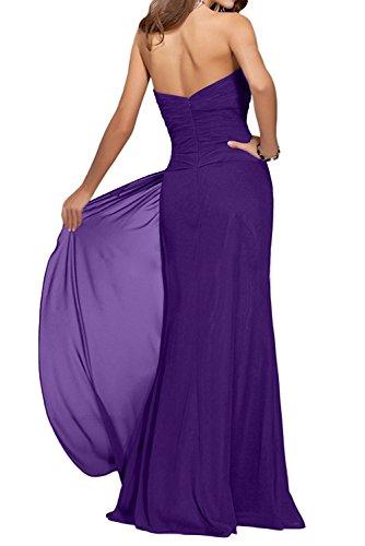 Brautmutterkleider La Abendkleider Herzausschnitt Elegant Brautjungfernkleider Traube Figurbetont Traegerlos mia Etuikleider Braut xO7qrwYO