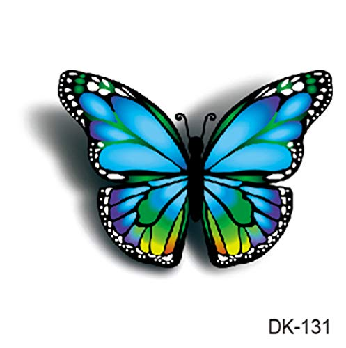 Beautiful 3D Butterfly Temporary Tattoo Temporary Tribal Tattoos