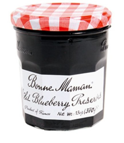 Bonne Maman Preserve, Blueberry, 13 Ounce