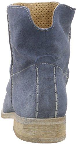 Buffalo London Es 30683 Suede Enrugado - Botas altas Mujer Azul
