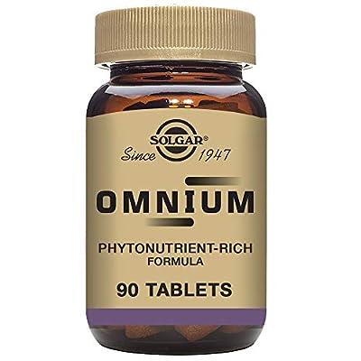 Solgar - Omnium Phytonutrient Complex Multiple Vitamin & Mineral Formula, 90 Tablets