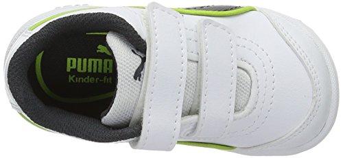 Puma Stepfleex Fs Sl V Inf, Zapatillas Unisex Niños Blanco (Puma White-asphalt 21)