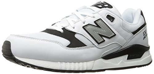New Balance Mens 530 Summer Waves Collection Lifestyle Sneaker Bianco / Nero