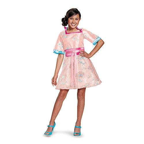 Disguise 88138K Lonnie Coronation Deluxe Costume, Medium (7-8) - Descendants Mal Coronation Costume