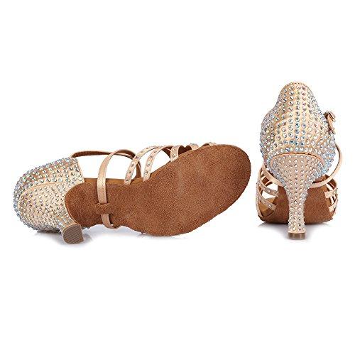 latinos de a Mujeres baile baile amp;Ni YKXLM Zapatos sal de Zapatillas de Ax8TIWFqw
